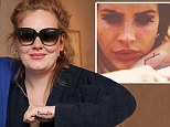 We've seen that design before: Adele shows off 'paradise' tattoo on her hand... an almost identical design to Lana Del Rey's body art