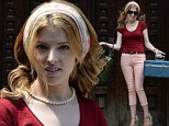 Anna Kendrick brings her baggage, and her smile, to a moving scene on the Manhattan set of The Last 5 Years