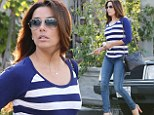 Eva Longoria gets a hair makeover just days after learning her ex-husband is engaged
