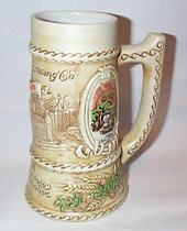 Schlitz 125th Anniv Commemorative Stein, 1974
