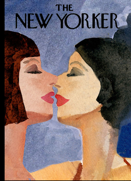 """The Gays"" Contest: Runner-Up #2 By Gayle Kabaker A beautiful, sensual image. A woman's face is the quintessential magazine cover, so these two women work well here. I like that they're about to kiss, so it makes you anticipate the next moment. The women feel both abstract and specific."