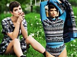 'If I posed in a sexy way, my friends wouldn¿t let me hear the end of it': Pixie Geldof admits she can't take herself seriously