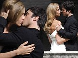 He's got it made! Ian Somerhalder enjoys sexy clinch with model Ana Beatriz Barros as they shoot perfume commercial in Italy