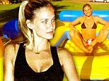 Model fun: Bar Refaeli has been having fun in her native Israel while filming the X-Factor