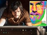 Psychedelic poster: A trippy new poster promoting the upcoming movie Jobs starring Ashton Kutcher as Apple co-founder Steve Jobs was released on Tuesday