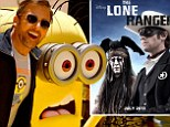 Johnny Depp's The Lone Ranger crushed at the U.S. box office by animated film Despicable Me 2