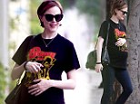 Evan Rachel Wood and her baby bump