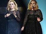 Someone like you... but slimmer! Adele's Madame Tussauds waxwork appears more slender than the singer