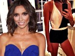 It's 'all about the one piece' for skinny Giuliana Rancic as she shares snap of retro swimsuit for July 4 celebrations