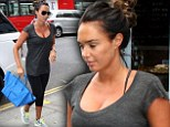 Back to normality for Mrs Rutland: Tamara Ecclestone resumes her regular routine as she heads to the spa