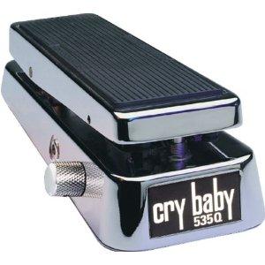 Dunlop 535QC Chrome Crybaby Wah Wah Pedal
