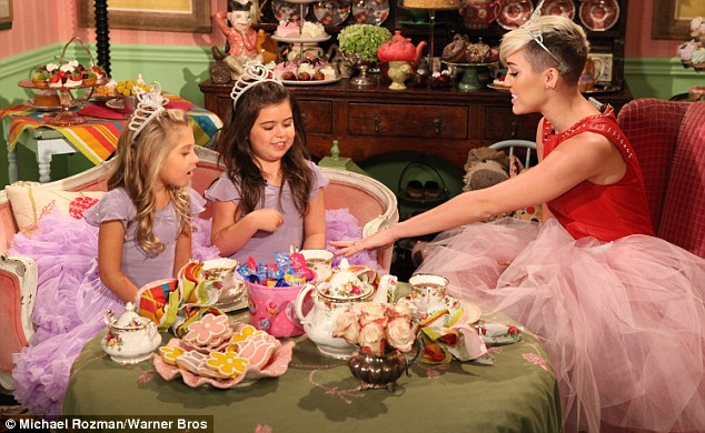'We can have tea!' Miley side-stepped the bridesmaid question