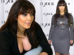 Kim Kardashian 'makes first post-baby public outing'... one month after the birth of little North