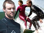 Chicago Fire's Jesse Spencer and his pro-surfer girlfriend Maya Gabeira take their love to the waves of Malibu