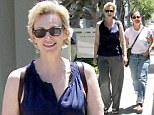 Who says they are estranged? Jane Lynch and wife go for stroll in West Hollywood despite filing for divorce