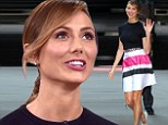 'We didn't discuss' marriage: Stacy Keibler says tying the knot with George Clooney was the 'last thing on her mind' during Good Morning America appearance