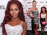 The incredible shrinking Snooki! Jersey Shore's Nicole Polizzi is almost unrecognisable next to her co-star JWoww