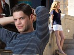 On-screen lovers: Anna Kendrick plays opposite Smash star Jeremy Jordan in The Last Five Years