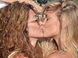 Kiss and tell: Bar Refaeli shares steamy shot of her kissing a girl on Instagram