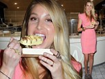 Fashionista Whitney Port lets her creative juices flow as she helps launch the Magnum Pleasure Store pop-up shop in Australia