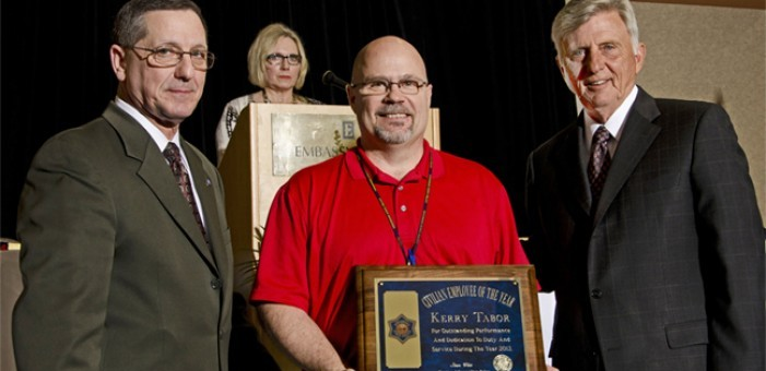 State Police Civilian of the Year Kerry Tabor (click on image for news release)