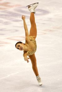 Michelle Kwan In Action