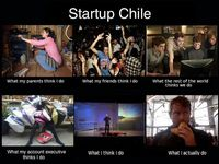 Circulating meme within Startup Chile group, this is hilariously accurate. Awesome snacks!