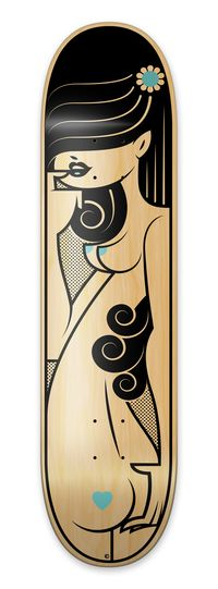 Bordo Bello 2011 Deck Art