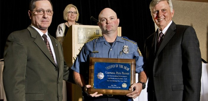Trooper of the Year - Corporal Pete Penney (see local news release)