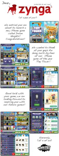 Tiny Tower Developers Call Out Zynga For Copying Their Game