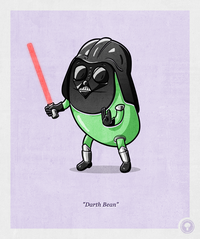 Darth Bean - Lucas Savelli's Pop Culture Vegetable Parodies Makes Healthy Food Look Fun
