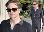What happened to Mr Darcy? Colin Firth displays his incredibly slimline physique after losing weight for movie role