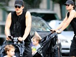 Orlando Bloom and young son Flynn enjoy some quality time in New York as the actor prepares for his Broadway debut