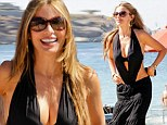 Is that a mermaid? Sofia Vergara shows off her lengthy, curvaceous physique in yet another jaw-dropping beach ensemble