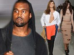 Third time lucky for Kanye West? Singer set to revive his failed fashion line after APC success - and this time it will be unisex