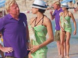Boris Becker with his wife Sharlely