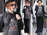 If it ain't broke! Evan Rachel Wood dresses her blossoming baby bump in the same stylish outfit twice in one week