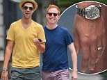 The look of love! Jesse Tyler Ferguson and new husband Justin Mikita are the picture of wedded bliss one day after New York ceremony