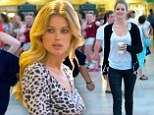 Doutzen Kroes swaps her bikini for daywear during photo shoot at iconic Grand Central Terminal