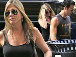 Jennifer Aniston and Justin Theroux escape the NYC heat with a movie matinee date