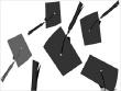 Throwing Graduate Caps (Mortar Board)
