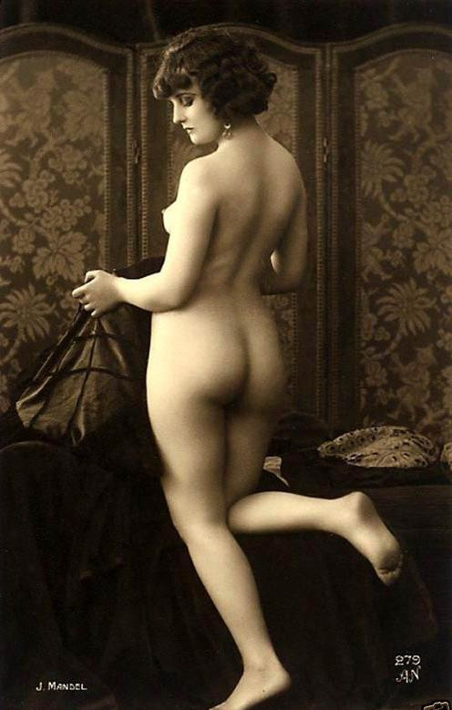 Julian Mandel for A.Noyer Studio- Nude #279, Paris Postcard,1920's