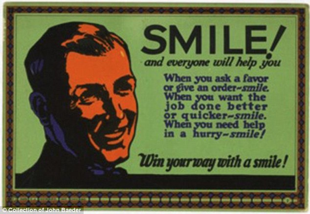 Positive attitude: This card played up the importance of staying upbeat and having a sunny demeanor at work