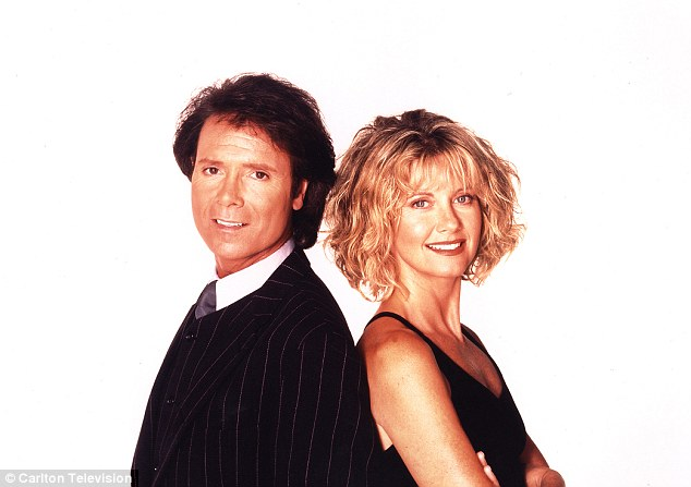 Sir Cliff might like to share some of his beauty secrets with his ex TV co-star Olivia Newton-John