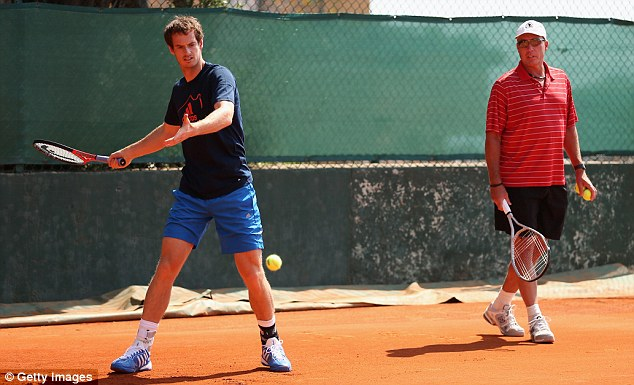 Head to head: Andy Murray will face coach Ivan Lendl at Queen's club in June
