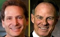 Dan Schulman and John Partridge