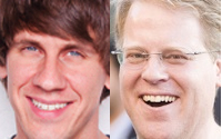 Robert Scoble and Dennis Crowley