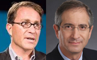 From left to right (John Battelle, Brian Roberts)