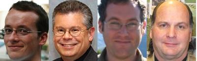 Andrew Turner, Robert Greenberg, Mikel Maron, Dave Warner