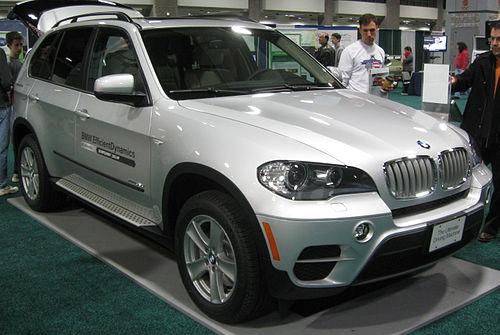 7 Seater 4x4 - BMW X5